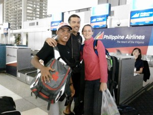 Manila to Bohol with Riccardo and Ivana