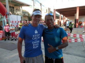 With Sir Fred at Ironkids